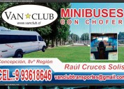 Mini bus con chofer