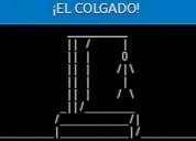 ¡el colgado! - videojuego para android