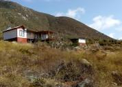 La serena norte, venta terreno con casa amoblada