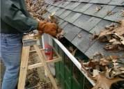 Limpieza de techos y canaletas