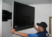 Instalación de soporte para led, lcd a domicilio.