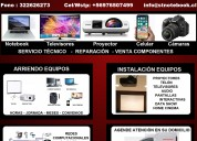pantalla notebook acer hp compaq dell toshiba sony