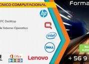 Servicio tecnico computacional | formateo de pc