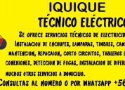 Tecnico electrico iquique
