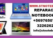 Servicio técnico reparación notebook computadores