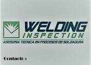 Calificaciones de soldadores welding inspection