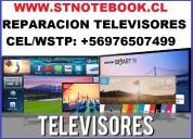 Reparación televisores aoc masterg lg samsung nex