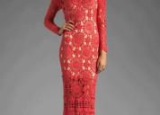 Hermosos vestidos a crochet para eventos especiales