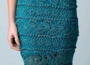 Vestidos de fiesta tejidos en crochet a pedido