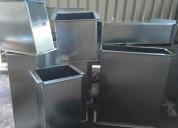 Fabrica de productos en metal, hojalateria.