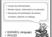 Inglés-español clases particulares