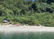 Linda parcela en isla caucahue 6300 m2, contactarse.