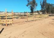 terrenos de huaquen 450 m2
