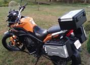 Excelente moto zongshen rx3 multiproposito 7500 km kms