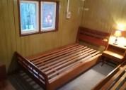 arriendo casa amoblada para 5 personas 2 dormitorios 47 m2, contactarse.