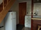 arriendo excelente cabaña amoblada urgente 2 dormitorios 40 m2