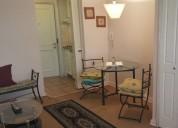 Departamentos amoblados 1 dormitorios 35 m2