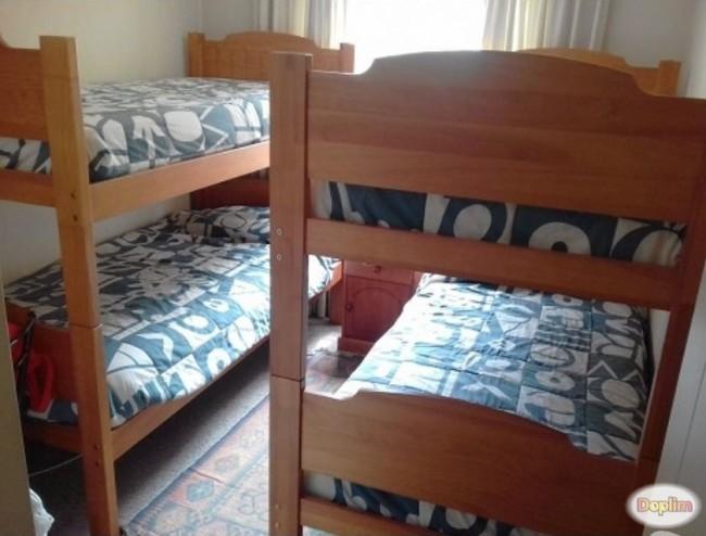 Departamento 3 dormitorio 8 personas.