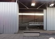 Se arrienda galpon en sector industrial 450 m2, contactarse.