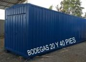 Contenedores prometal 15 m2, contactarse.