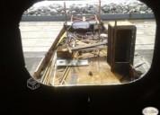 Barco de acero en refaccion en concepción