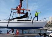 Excelente velero aventura 26 en valparaíso