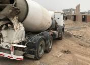 Excelente camion mixer scania modelo p 380 ano 2007 9600 km kms