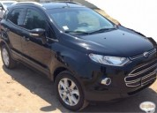 Vendo ford ecosport impecable 81000 km kms cars