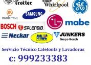 Calefont lavadoras técnico inacap c 999233383 viña