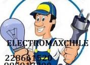 Intalador electrico a domicilio, autorizado 24 hrs