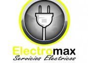 Instalaciones electricas a domicilio 24 hrs sec