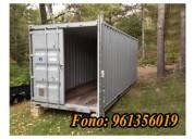 Venta de contenedores temuco, container bodega