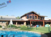 Casa con 1.128 m2 terreno, jardÍn del mar // vc486