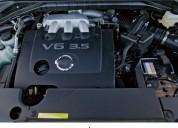 Motor nissan murano