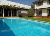 Gran propiedad con piscina en quilpué. impecable