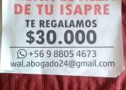 Isapre sin alzas // quinta region