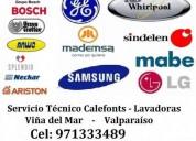 servicio tec calefont y lavadoras c 971333489 viña