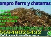 Compro chatarras todo santiago  949025432