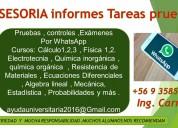 Resolucion de pruebas por whatsapp 100% confiable