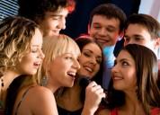 Karaoke profesional para toda clase de eventos.