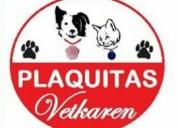 Plaquitas de identificación para mascotas