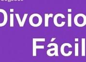 Divorcio menos de un mes