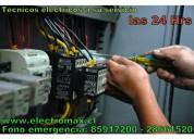 Instalador eléctrico a domicilio 24 hrs sec