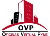 Of virtual; acredita un domicilio comercial en sii
