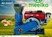 Meelko peletizadora 150mm 8 hp diesel mkfd150a
