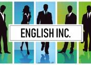 Clases particulares a domicilio de inglés.