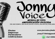 Cantante jonny voice