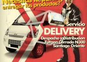 Chofer con furgon n300 para reparto o delivery