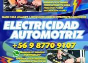 Clases personalizadas de electricidad automotriz
