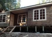 Cabañas prefabricadas con o sin instalacion